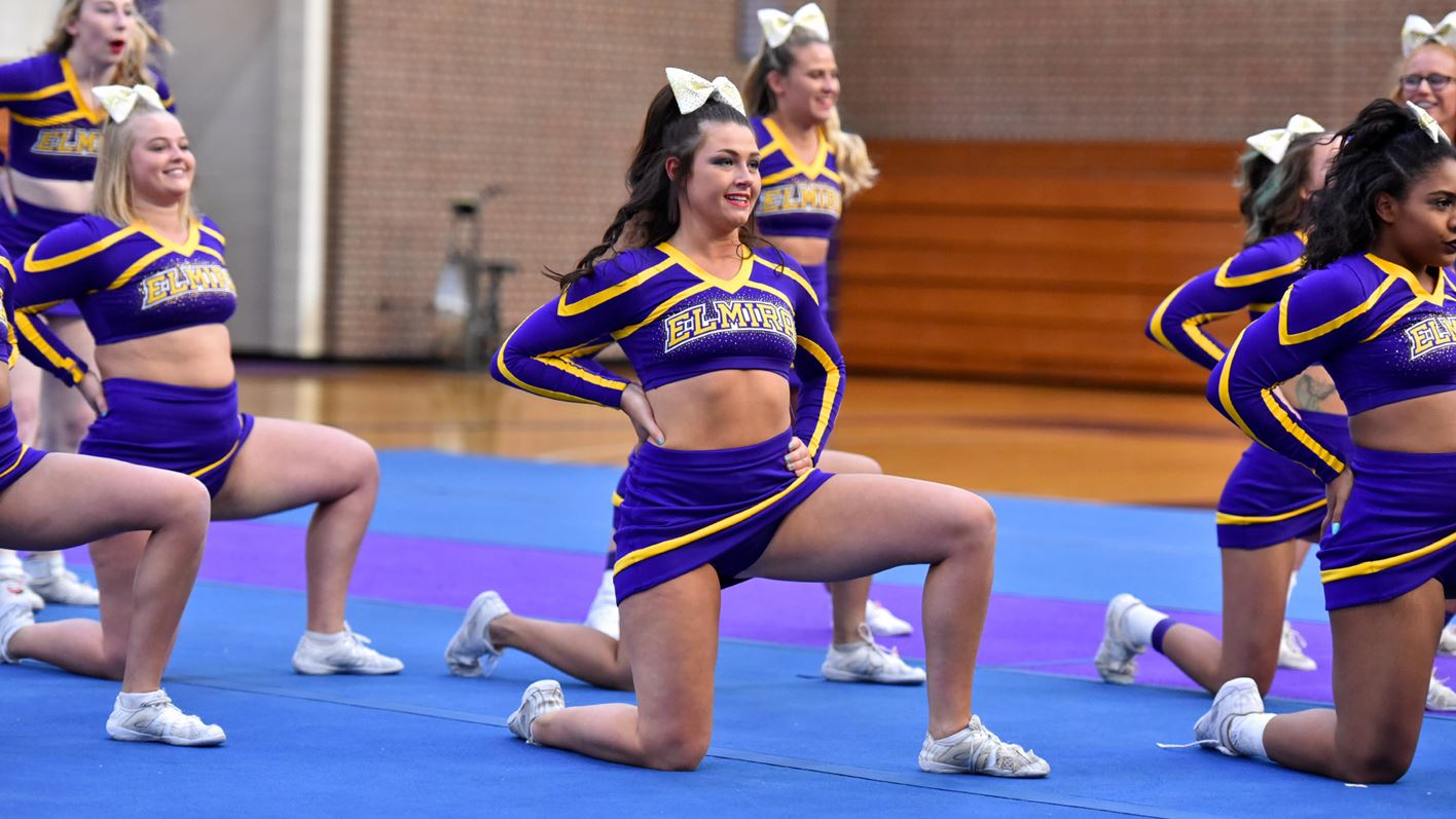 cheerleading elmira college athletics