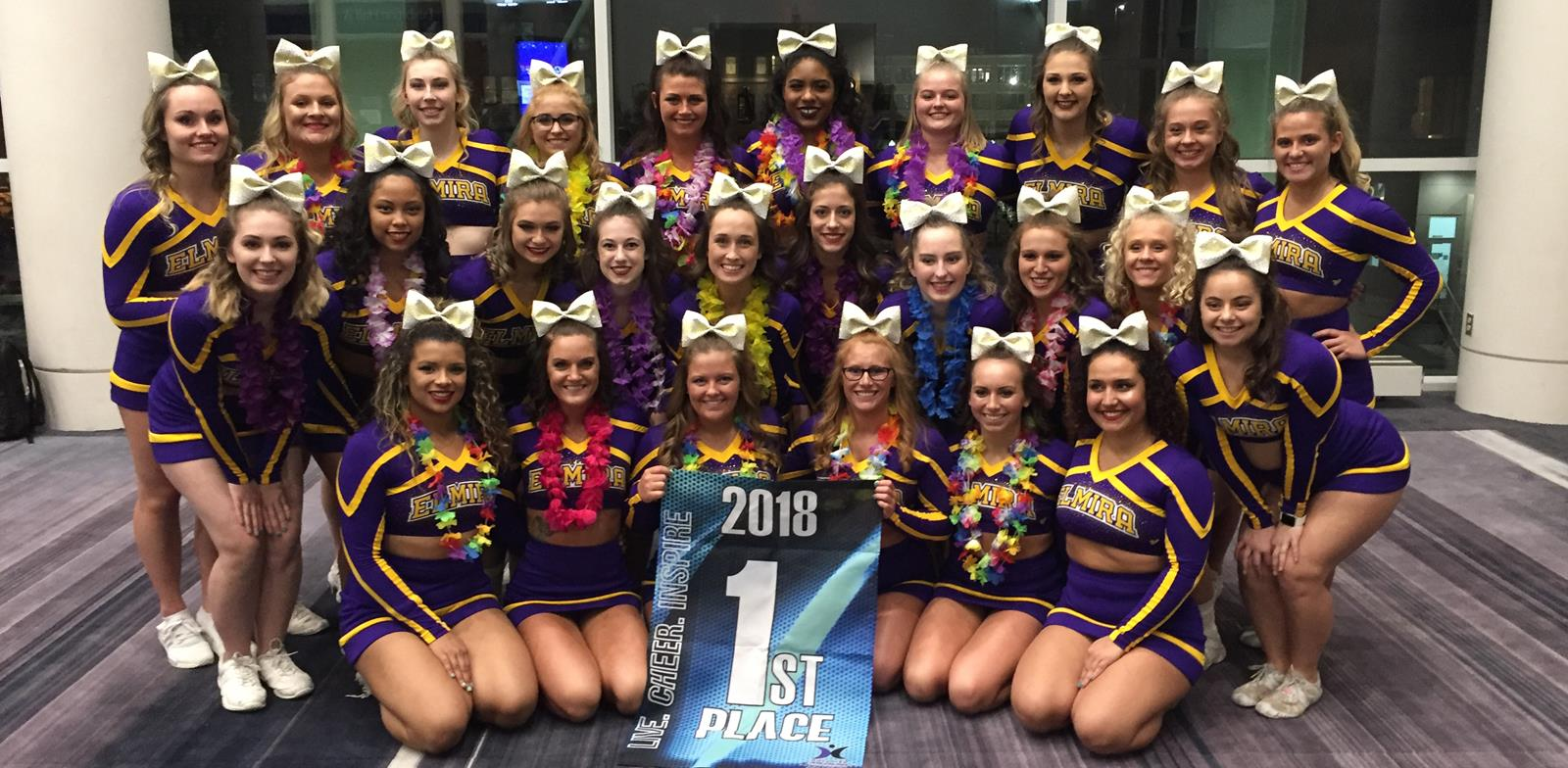 459eade49f Cheerleading Wins First Place at Advanced Spirit Nationals - Elmira ...