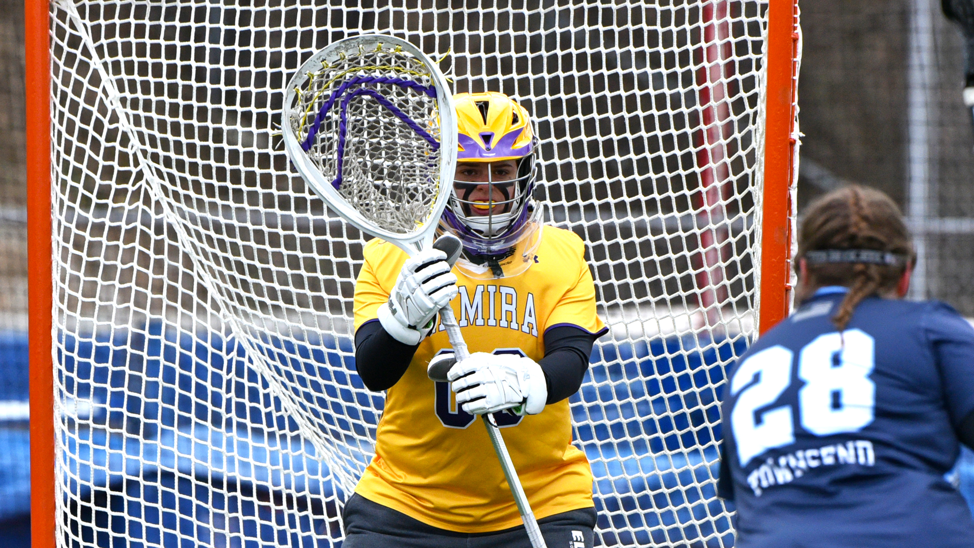 Women's Lacrosse Tripped Up by D'Youville - Elmira College Athletics